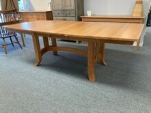 Shaker cherry extension table